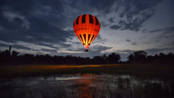 Eyes in the Skies: Hot Air Balloons in Delhi NCR  Tiger Balloon Safaris  Here's another Hot air balloon in Rajasthan. Approved by the Director General of Civil Aviation, they comply with the top level aviation authority in India and have world class standards.  Contact: +919999742000  Price: rs.12, 000 per person