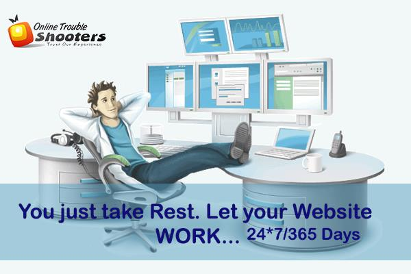 Let your #SmallBusiness work 24*7/365 Days... Just Get #Domain & #Host your #Business #Website. Enjoy your #Online Business! Need any help just ask us at https://goo.gl/ttcBUJ The Best #Hosting #Servi - by Online Trouble Shooters, Faridabad