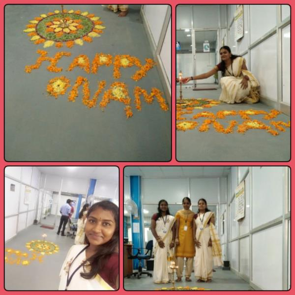 Celebrating Onam festival  in Our Factory (4-9-2017)    AT      CLASSIK COOLING TOWERS