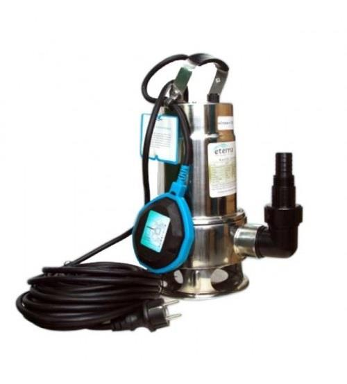 ETERNA (Waste water Pump)    Removing stagnant water from basement/underground parking's/garages   Draining in monsoons   Emptying water-tank and pits for cleaning   Waste water from hotels   Surplus water from sumps