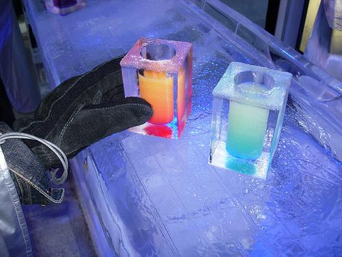 Enjoy nice drinks in ice glass only at snowpark goa #Snow #Park #Goa #Icebar  #fun #drinks #bar