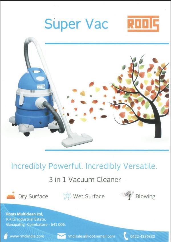 Vacuum Cleaner In Calicut