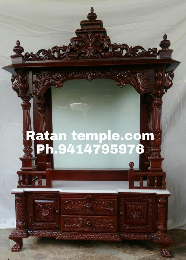 We make temple in much more creative design and we are manufacturing in Jaipur
