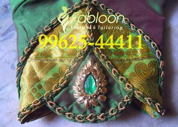 Bridal Hand Embroidery Cut Work Designer Blouse At Fabloon Fashion Boutique And Designer Tailoring In Vadapalani, Mob: +91 9962544411, 044 48644411.  Long Saree Blouse. Mirror Blouse Designs. Blouse Designs For Cotton Sarees. Designer Blouse Patterns. Check all updates for more collections.