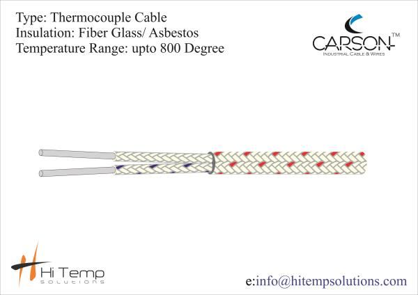 K Type Thermocouple Cable : Hi Temp Solutions in abu dhabi,dubai