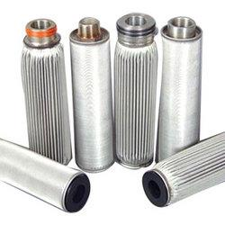 SS Welded Pleated Filter Cartridge : Define Filtration has the expertise in Manufacturing  SS Filter Cartridge , Welded Cartridge, SS Pleated cartridge in Ahmedabad, Gujarat. We are offering wide range of SS cartridges Useful for various applications. We are located at Ahmedabad, in India. Features and Benefit: Excellent mechanical strength No media migration Size customisation Stable pore shapes High permeability Low pressure drop High differential pressure with stand capacity Strong corrosion resistant High dirt-holding capacity (longer lifetime) High temperature resistance Back flushing