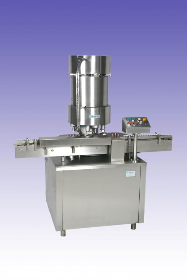 We are manufacturing and supplier of aluminium cap sealing machine We are supplying in all over India