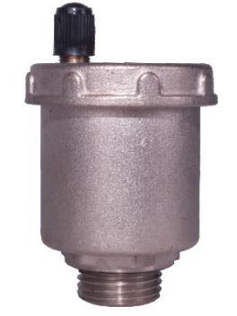 "Matrix Valves are wholesale suppliers of air vent valves. The air vent valves have an automatic mechanical system that controls and maintains pressure without the assistance of an operator. The air vent valves are made out of brass, a material that is often used in applications of this type. In general, the internal components such as the small levers and springs are made of stainless steel. The fields of air vent valves application are characterized by relatively low temperatures. Matrix Valves provides this in the size range of ½"" (15 mm) to 1″ (25 mm)."