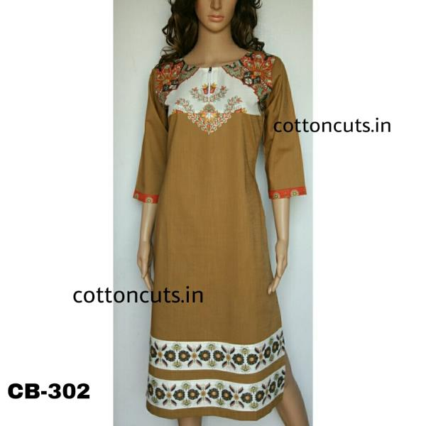 We often look for perfection in life but it actually does not behave as expected. The matter of fact is that living a life is an art and it does not have standard mathematical formulas.Neverthless there is atleast one thing that we can assure you of perfection and that is your outfit.As Manufacturer of Designer Casual wear Kurtis we strive hard for perfectly fitted Kurti as if it as personally measured and tailored for you by your personally known and well understood neighborhood tailor.The obvious second perfection you are looking forward is in pricing which by default as Manufacturer and Wholesalers of Designer Casual wear Kurtis is taken care of. So be happy inching closer to a word called Perfection.