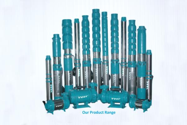 Submersible Pumps Manufacturer - Veer Pumps is the pioneer Manufacturer, Supplier and Exporter of Submersible Pumps. 1. V3 Submersible Pumps  2. V4 Submersible Pumps 3. V6 Submersible Pumps 4. V8 Submersible Pumps 5. Submersible Mono-block  6. Sewage / Mud Pumps   For More Details and Purchase  Call us Now or Drop Your Query below for any sort of Submersible pumps
