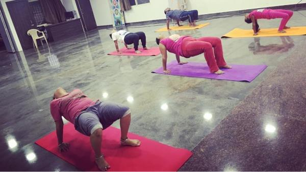 Try our yoga classes for