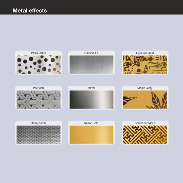 Stainless Steel- Panel Finishes