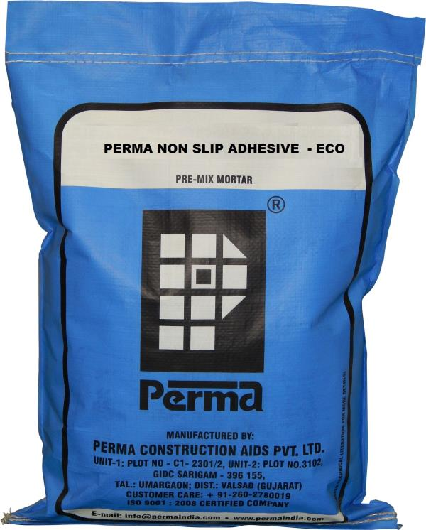Tile Fixing Powder   We Are Leading Manufacturer And Supplier Of Cementitious Tile Fixing Powder in india.  Perma NSA ECO is a cementitious material in powder form composed of Cement, Sand and Polymers which only need on site addition of water to make a mortar which is used for fixing tiles over any cementitious surface or on existing mosaic tiles without removing them. Perma NSA ECO is also used for fixing tiles on difficult surfaces.  ADVANTAGES  Can be used for fixing tile over tile. No need to break or hack the existing tiles. Makes the tiled area waterproof. Holds the tiles even at high temperatures. Single component hence easy to use. Withstands temperatures up to 200° C.  PRIMARY USES  Perma NSA ECO is mainly used for fixing glazed, ceramic, terracotta tiles, vitreous tiles, marble, granite tiles on Cementitious surface or on existing mosaic or ceramic floor tiles without removing them or hacking them. Perma NSA ECO is also used for tiling on difficult vertical cementitious surfaces and in cases where the weight of tile is more than the normal ones. Perma NSA ECO can also be used for plaster crack repairs and paver joint grouting.