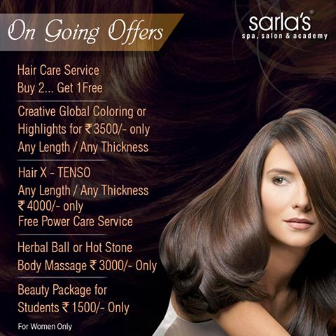 Sarla's  Spa Salon introd