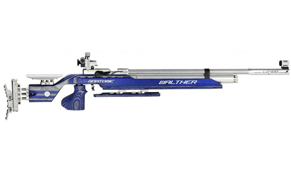 Buy Walther LG400 Anatomic Expert 2, 30, 000/- Limited Stock (Immediate Delivery)  For More Information Contact: +91 8550994091 or email: hubshootingsports@gmail.com  Go for gold with WALTHER guns. Successful sportsmen choose WALTHER. They have garnered gold medals and titles with air guns of the LG300XT Series. How can this string of victories be continued in the future? The reply of WALTHER's engineers: with the LG400.  Your personal high-tech precision rifle. The WALTHER development center has created a high-tech precision rifle that's ahead of its time: pointing the way forward with its functionality and with its wide range of features. Assemble for yourself an air rifle matching your requirements in full, and start to prepare for your competition. With the LG400 you're a winner - as a club member or as an Olympic participant.  LG400 Anatomic EXPERT: • Compressed air system for 300 and 200 bar • Modular system for personal features and upgrades. • Individually adjustable center of gravity and weight distribution • EQUALIZER magnetic absorber system • Pressure reducer with QUICKCLEAN air filter • Aluminium cylinder with pressure gauge • Ergonomically shaped loading lever can be placed on the left-hand or right-hand side • Carbon fiber barrel jacket • ECO valve technology: - Minimal opening pulse - Reduced shot development time • Breech: convenient loading, precise pellet guidance • Loading status indicator • Dry firing trigger • VARIO trigger for extremely fine settings • Laminated wood stock with a wide range of settings and T-slot rail • Precision stock length and cheek piece setting • 3D grip adjustment with MEMORY effect • Infinitely adjustable fore-end with knee joint • Light metal butt plate MEC CONTACT III • Absolutely tension-free barrel mounting • INSIGHT-OUT match diopter, CENTRA SCORE foresight holder • sight elevation BLOCK CLUB • Barrel weight • Gun case and accessories  For More Information Contact: +91 8550994091 or email: hubshootingsports@gmail.c