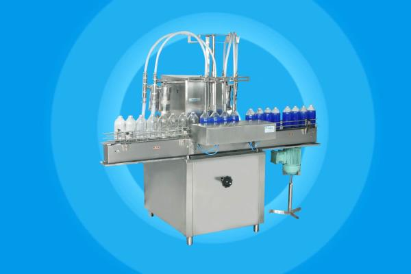Oil filling machine manuf