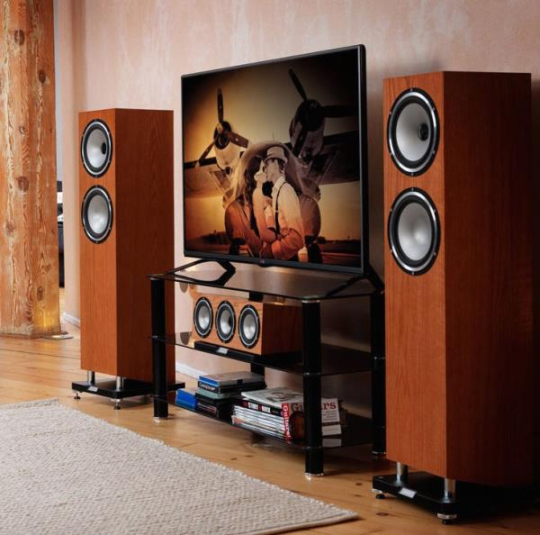 The Tannoy Revolution XT6Fs are incredible speakers for the money and you must seek them out for a demo. These are versatile speakers, and while they're happy to bop along with Pharrell Williams they are just as content chilling to Portishead. Timing and dynamics are the key here, and these Tannoys are well endowed in both departments. Whatever you throw at them will be handled with precision and agility, while the wide dynamic range offers enough zest to ensure the performance never veers into the clinical. Despite their lively demeanour, the sound is nice and balanced. No part of the frequency demands extra attention. The midrange is lovely. It's direct without being demanding. Vocals stand out without feeling isolated. There's a good deal of bass, but it's agile and nicely controlled.  The design has been improved from the previous generation with the most obvious change being the angled base of cabinet and an integrated plinth and down-firing reflex port for better dispersion of low frequencies. Tannoy's signature Dual Concentric driver has also been tweaked to improve integration between the tweeter and mid/bass cone. We urge you to give them an audition at Viewtech Hyderabad, The Authorized Tannoy Dealer in Hyderabad. #tannoysevengenerationsinthemaking #tannoysounddemo #tannoydealerhyderabad