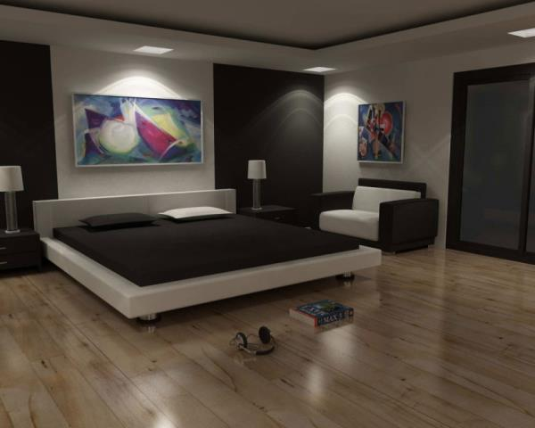 You want to decide some factors like wall coloration, or bed room wallpaper, and the form of floors which you want. Try to pick out a color that will help you create a peaceful environment and also praise well together with your Bedroom Interior.