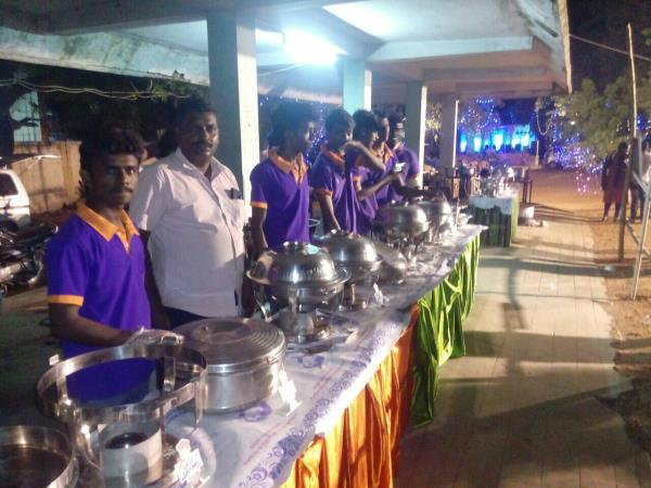 Our Vaanavil Catering Function At Vallabha Vidyalaya CBSC School Teachers day celebration Date16. 09.17  200 Persons Buffet Lunch at Alagar Kovil main road, School Chairman ph no 9843069397, Please Ask him How Is Food?