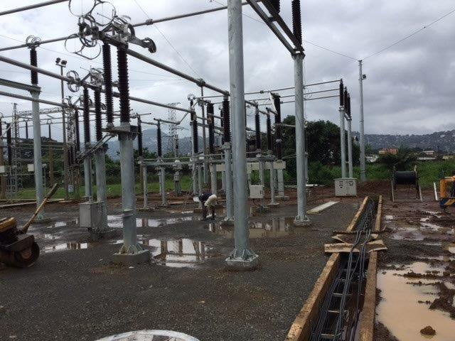 161/33kV Outdoor substation extension of EGTC/EDSA at Freetown, Sierra Leone commissioned successfully. Satcon provided full engineering support to M/s BES Europe to make the project a success. The project was managed by World Bank and Ministry of Energy, Sierra Leone.
