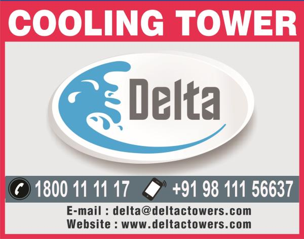Delta - Manufacturer of Cooling Towers  We hold expertise in offering a wide range of FRP Cooling Tower. These are widely preferred by clients owing to its rugged construction, robustness and dimensional accuracy.  www.deltacoolingtowers.in - by Delta Cooling Towers P. Ltd.  9811156637, New Delhi