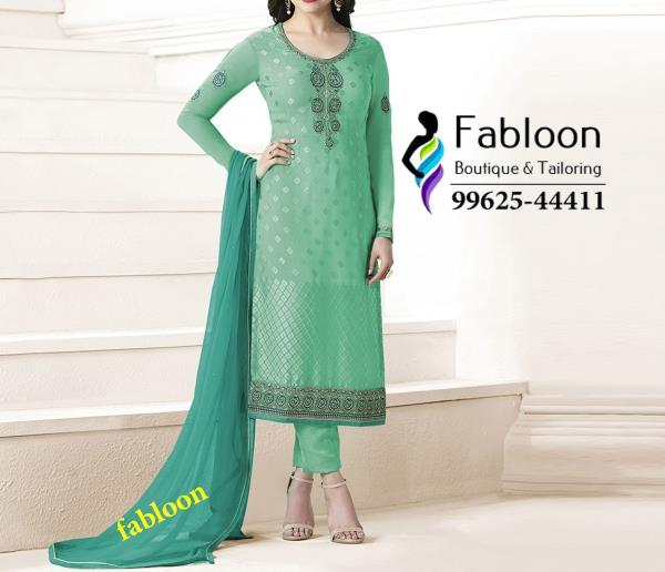 Light Green Party Designer Chudidhar Suit At Fabloon Fashion Boutique And Designer Tailoring In Vadapalani, Mob: +91 9962544411, 044 48644411.  Churidar Bottom Stitching In Vadapalani. Stitching Tailor At Kodambakkam. Ladies Tailor Shop Around Kk Nagar. Western Wear Boutique Near Ashok Pillar. Check all updates for more Collections.