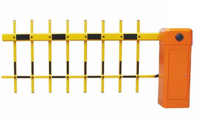 Fence Boom Barrier  Fence Boom Barrier 100% Duty Cycle barrier Heavy Duty barrier Double Spring Barrier Fixed Length 3.5m / 4m / 4.5m with fold-able fence. Machine core with compression spring, effectively avoids the accidents caused by spring breaking Manual release Die-casting aluminum alloy motor, precision and good at thermal radiating Motor cooling fan, solving the problem of heat-protection Double safety limit switches (photocell electrical limit switch/motor memory sensor) Reversing on obstacle 100% heavy duty cycle barrier Heavy duty double spring barrier Auto Reset when power on. 3 Buttons to control the barrier gate.  http://wardenindia.com/?product=fence-boom-barrier-2  contact:7204031321/23/25/27