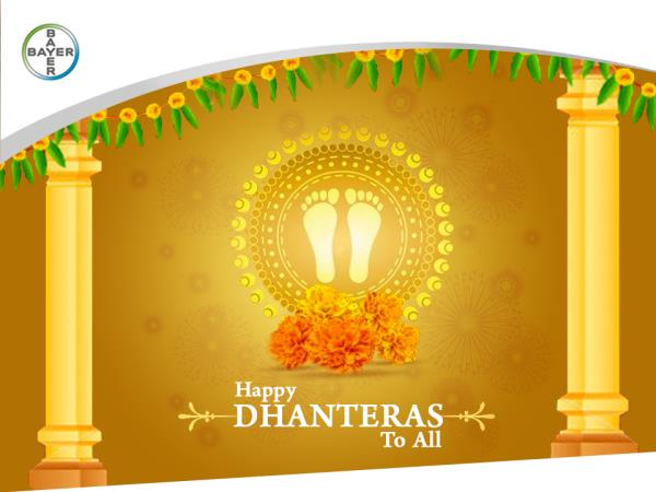 Mark the beginning of #Diwali with pest-free houses, which shine and shimmer bright just like Gold. Wishing you a very #HappyDhanteras!