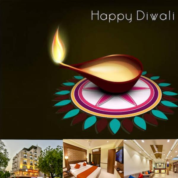 May millions of lamps illuminate your life with endless joy, prosperity,  health and wealth forever. Wish you and your family a very happy Diwali 2017. Hotel Heritage Paldi Cross Road Ahmedabad. Phone:- 079-26574730/31 mob;- 9825610182/9898555182/8511711922 Book your Room at Best Price this Festival