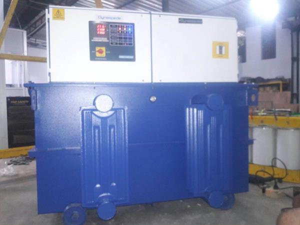 Arzoo Energy manufacture oil cooled Servo Voltage Stabilizer with latest technology of low losses and high efficiency.