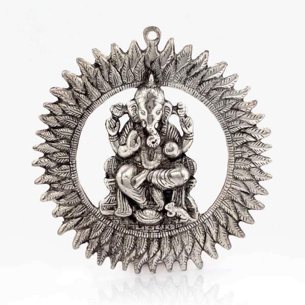 Metal Handicraft Seller in Thanjavur.   We are Jaipur (Rajasthan) based Largest Manufacturer and Wholesaler of Chakra Ganesha Hanging. We Export Ganesha Idol Hanging all Over the World on affordable prices. We are engaged in providing Finest Quality Wall Hanging Décor. We have wide range of Value for Money Metal Ganesha Hanging. This Unique Ganesh Hanging is prepared by village Craftsman and woman of Rajasthan. Visit our Jaipur factory outlet for Comprehensive Range Of Decorative Items.    Click on the below link to view the product:   http://littleindia.co.in/unique-white-metal-chakra-ganesha-idol-hanging-314/p411