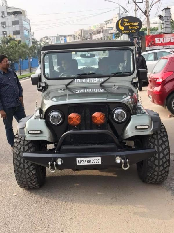 Thar reworked. Front Guard, new head lights.