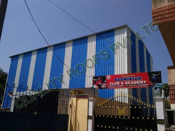 Badminton Shed Roofing Services    We are providing Badminton Shed Roofing Services. This service is provided by a team of experts and available as per the specifications and requirements of our clients. Our service customized as per specifications. This service is widely demanded in residential areas. We are the topmost for this industry we are the leading Badminton Roofing Contractors Chennai.