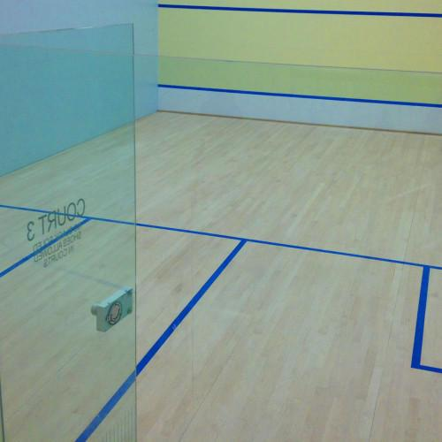 Squash Court Flooring  We Sundek Sports Systems are manufacturers of Squash Court Flooring in Mumbai. As well as in India. Product Details: Type	Indoor Floor Type	Wooden  The court size was codified in the 1920s at 975 cm (32 feet) and 640 cm (21 feet) wide. The front wall has a