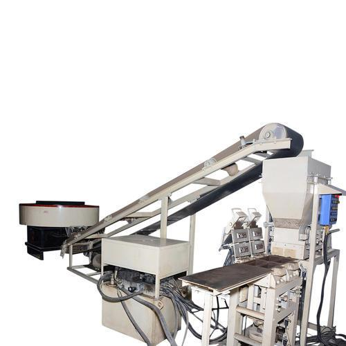 Fly Ash Brick Plant machine in Roorkee  Requires minimum number of labor to operate, this Fly Ash Brick Plant has reasonable design, compact structure and frequency brake and can put off power consumption timely.  Specifications: No. of strokes/ hour: Machine speed 1200 bricks per hour