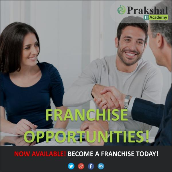 Looking for Franchise in Computer Education in India | Get associated with Prakshal IT Academy | The Best IT Training for Microsoft Specialization | Virtualization Specialization | RedHat Linux Specialization . Prakshal Franchise opportunities : Register with us | Get Licensed | Get Trained | Start your Business and Keep Earning. For more information: mail us on: franchise@prakshal.com click on: http://www.prakshal.com/computer-training-franchisee.html
