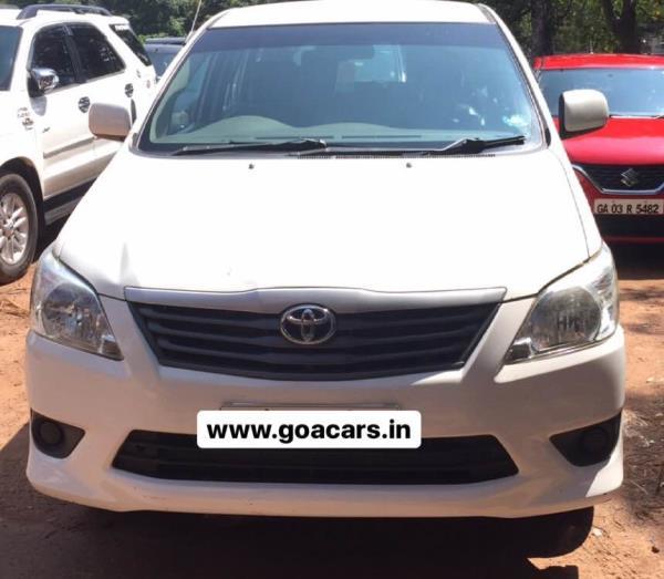 Self Drive Innova in Goa