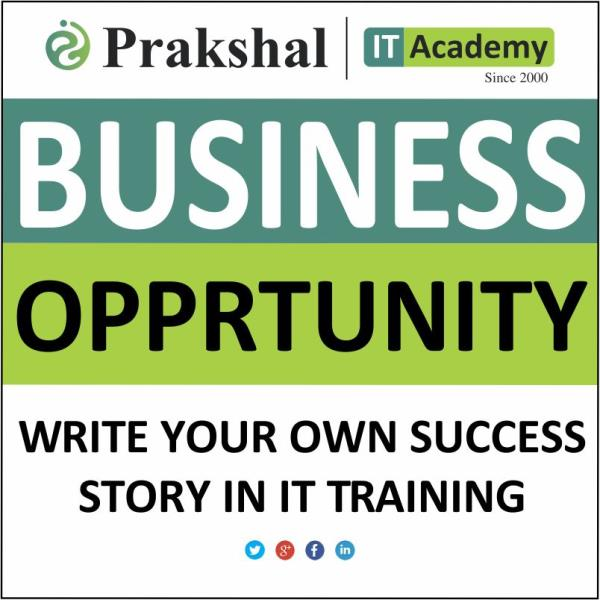 Prakshal IT Academy is offering Franchisee to those existing Computer Education Centres who are running their centres independently | Prakshal is affiliated with IT Giants like Microsoft & Redhat, trianed and placed more than 50,000 candidates till date. Grab the opportunity to associate with the renowned brand in the IT Field. Opportunities are now available at Baroda | Nadiad | Himmatnagar | Mehsana | Palanpur | Idar | Rajkot | Junagadh | Jamnagar | Surendranagar | Bhavnagar | Navsari | Bharuch | Porbander | Bhuj | Veraval | Dwarka. For more information: click on: http://www.prakshal.com/computer-training-franchisee.html