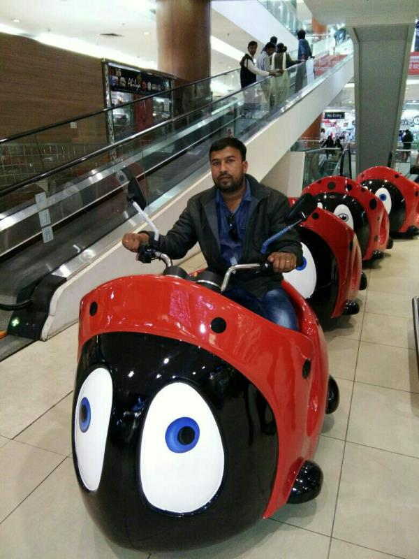 Bug shape trackless train ride available now if any one  required for your school, farm house , resort, shopping mall and amusement park. www.astrokidzinc.com +91 9911076230 +91 9811076230