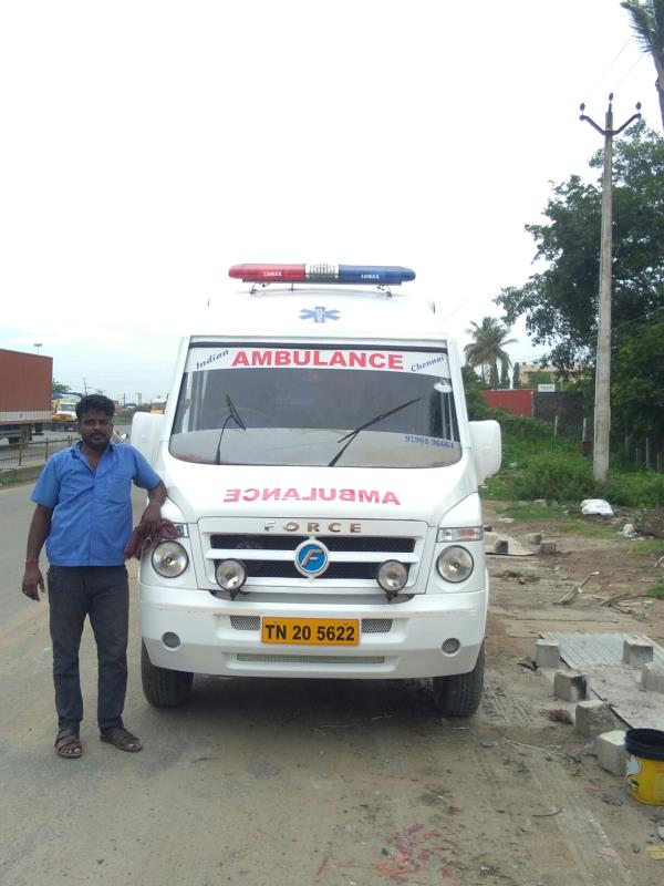 Indian ambulance service  Madurai good services   all over India  service