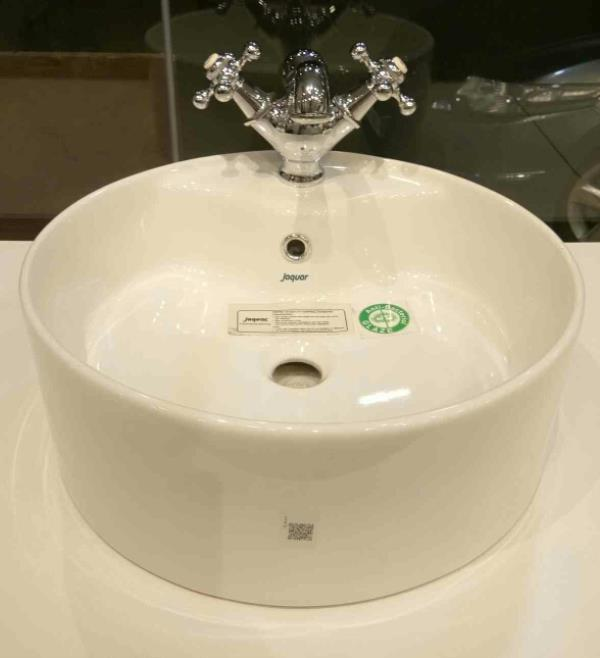 Table Top Washbasin Jaquar At Jj Walls Floors JJ WALLS FLOORS AND MORE PVT LTD