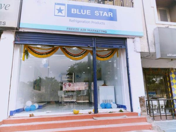 Freeze Air Marketing opened exclusive Showroom of Blue Star Ltd at Tadbund, new bowenpally. Refrigeration products, air conditioner, water purifier, air purifier and scientific cooling products. Call us for more information  8008823458 freezeairhyd@gmail.com