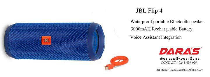 #JBL Flip 4 #Waterproof portable #Bluetooth speaker. DARAS