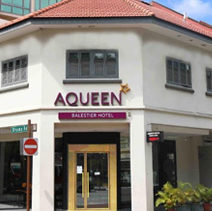 Singapore Hotels Aqueen Hotel Lavender is Aqueen group of Hotels which offer fours hotels in Singapore. Aqueen Hotel Lavender is located on Lavender Street For Best rates and booking please write us uholidays@gmail.com or call us on 24 X 7 9213531173  Aqueen Hotel Lavender located on along Lavender Street and conveniently accessible through a network of public transport systems historical, cultural, entertainment and retail areas in Singapore are easily connected.  It is around 30 minutes from Changi International Airport and Singapore Expo, 10 minutes to Suntec Convention Centre and 15 minutes from Orchard Road and the financial district.  Aqueen Hotel Lavender's location near the MRT makes it convenient for guests to visit Singapore sights including Marina Bay Sands, Resorts World, Esplanade, Sentosa and Singapore's latest sports playground – The Singapore Sports Hub. The hotel in Singapore is also a short stroll from the colourful sights, sounds and spices of Little India, round-the-clock shopping at Mustafa Centre and the eco-friendly City Square Mall. Hotel offers 104 well thought-out Single, Twin and Queen rooms from levels 2 to 6. Fitted out with work desk, in-room safe, security-enhanced key card access and air-conditioning, Television with 15 local and international channels, Complimentary wired/wireless high-speed Internet access, complimentary local calls, bath amenities and coffee & tea making facilities. Handicap-friendly rooms are also available. Aqueen Hotel Lavender  139 Lavender Street Singapore 338739 T  +65 6395 7788