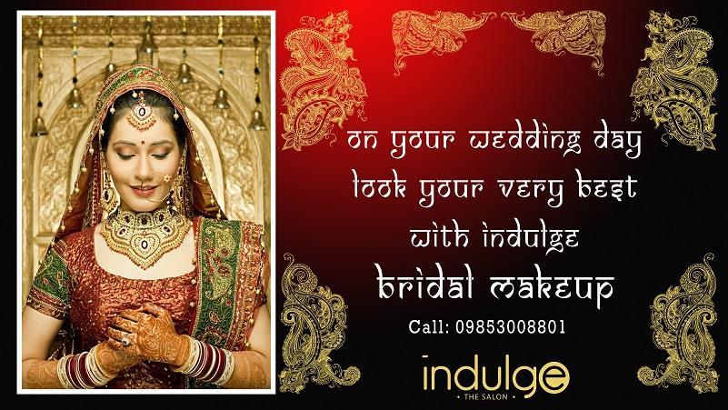 On Your Wedding Day, Look Your Very Best with Indulge Bridal Makeups.  For Bridal bookings call: 09853008801  #Bridal #Makeup #Wedding #PreBridal #Salon #Bhubaneswar #Cuttack