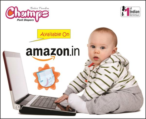 HAPPY CHILDREN'S DAY  On this occasion, Champs Pant Diaper gives you huge discount for your little champ on amazon.in. Click below linkto buy the champs pant diaper: https://goo.gl/URFnbB  For Exports / OEM / Bulk trade inquiry Please feel free to contact via   E-mail: wecare@safilocare.com  Contact: 08079444679  Whatsapp: +91 7573040437 / 39