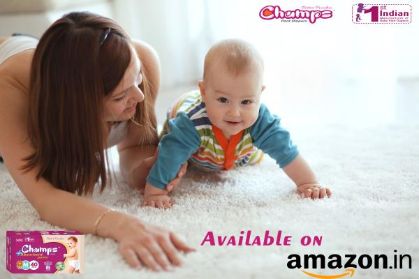 Champs Pant Diaper gives you huge discount for your little champ on amazon.in. Click below linkto buy the champs pant diaper:   https://goo.gl/URFnbB  For Exports / OEM / Bulk trade inquiry Please feel free to contact via   E-mail: wecare@safilocare.com  Contact: 08079444679  Whatsapp: +91 7573040437 / 39