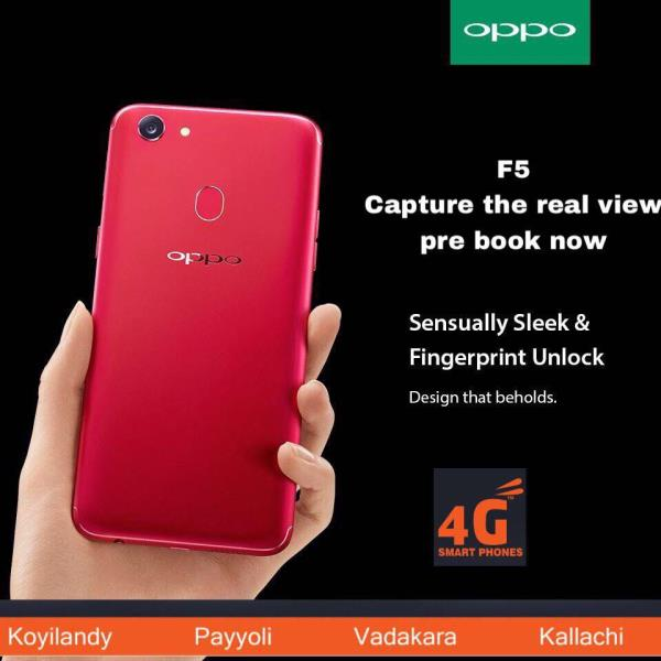 Now Capture The Real You With The OPPO F5! Design That Beholds. Pre Book Now at 4G Smartphones.