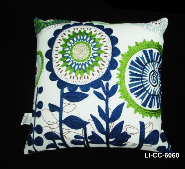Hand Embroidered Cushion Covers Manufacturer  Manufacturer & Exporter of Cushion Covers, Designer Cushion Covers, Hand Embroidered Cushion Covers from India.   For more info: 9443345248