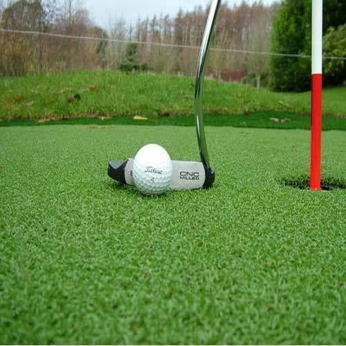Artificial Grass for Golf Court  We Sundek Sports Systems are manufacturers of Artificial Grass for Golf Court in Mumbai.  As well as in India. Product Details: Coverage Area (square meters) Customized Material PE , Synthetic Shape Straight We offer Artificial Grass for Golf Court which is replacement for natural grass. Natural grass suffers from intensive use and weather plus maintaining a natural golf course is quite expensive. By using Artificial grass for golf course in place of natural grases, there will be no maintenance cost. Artificial grass for golf is player friendly, durable, low at maintenance, weather resistant and economical. Artificial grass looks natural and gives realistic feeling. Artificial grass for golf can be used for both indoor and outdoor applications like grounds or rooftops. Artificial grass is made by combining separate synthetic grass fibers. Artificial Grass for Golf is available for various areas in a golf course such as driving ranges, fairways and golf putting greens. Our artificial grass for golf has extreme long life even with constant usage. We believe in quality and we deliver artificial grass for golf that is performance efficient and reliable. We offer our Artificial Grass for Golf in competitive rates in the market.